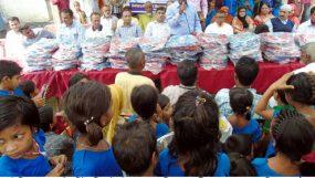 হতদরিদ্র শিক্ষার্থীদের মাঝে রোটারি ক্লাব মেট্রোপলিটনের স্কুল ব্যাগ বিতরণ
