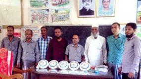 বালাগঞ্জ চরসুবিয়া সরকারি স্কুলে প্রবাসীর ফ্যান প্রদান
