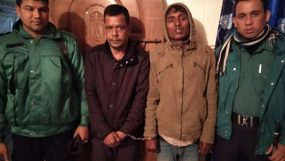 জালালাবাদ থানা পুলিশ কর্তৃক ২ জন ছিনতাইকারী আটক