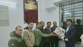 অতিরিক্ত কর কমিশনার মোঃ আবু সাইদ সোহেল এর সার্কেল-৩ পরিদর্শন