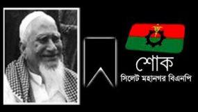 অব. শিক্ষক ফজলুল হক তানু মিয়ার মৃত্যুতে মহানগর বিএনপির শোক