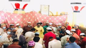 শামীম আহমদের সুস্থতা কামনায় জেলা যুবলীগের মিলাদ ও দোয়া