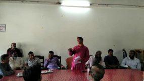 বড়লেখা হাজীগঞ্জ বাজারের নানা সমস্যা নিরসনে আহ্বায়ক কমিটি গঠন