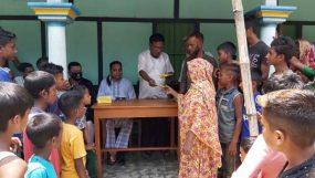 গোলাপগঞ্জের ঘাগুয়ায় ২৫০টি পরিবার ও আলেমদের মধ্যে আর্থিক অনুদান প্রদান