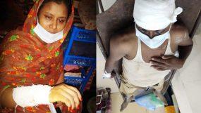 মোগলাবাজারে প্রতিপক্ষের হামলায় নারী-শিশু সহ আহত ৪