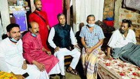 ফেঞ্চুগঞ্জে বিশিষ্ট ব্যাক্তিবর্গের সাথে হাবিবের সৌজন্য সাক্ষাৎ ও মাজার জিয়ারত