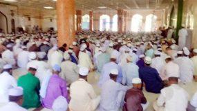 আঞ্জুমানে হেফাজতে ইসলামের উদ্যোগে 'তরবিয়তি মাহফিল' অনুষ্ঠিত